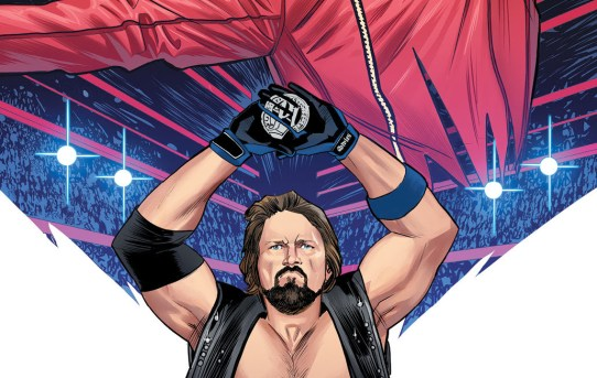 "WWE Superstar ""The Phenomenal One"" AJ Styles to be Featured in WWE #21"