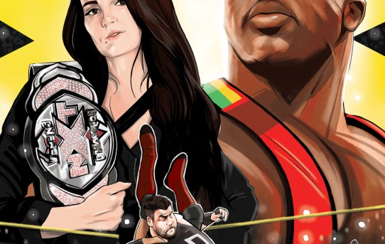 BOOM! Studios Unveils First Look at WWE: NXT TAKEOVER – PROVING GROUND #1