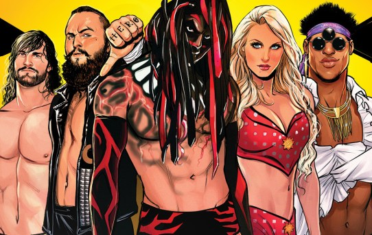 BOOM! Studios Unveils First Look at WWE: NXT TAKEOVER – THE BLUEPRINT #1