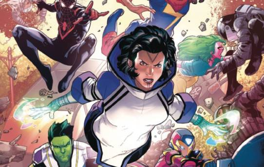 CHAMPIONS ANNUAL #1 Preview