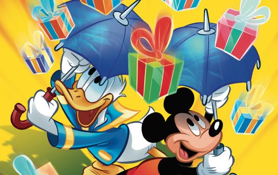 MICKEY AND DONALD CHRISTMAS PARADE #4 Preview