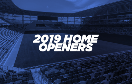 MLS announces 2019 home openers for all 24 clubs; season kicks off March 2
