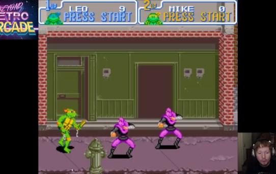 Beyond Retro Arcade - TMNT Turtles In Time