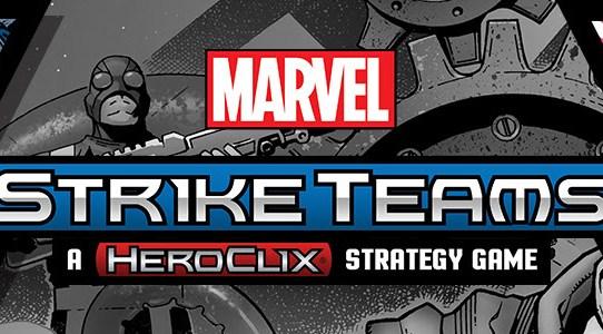 Heroclix Marvel Strike Teams Now Available