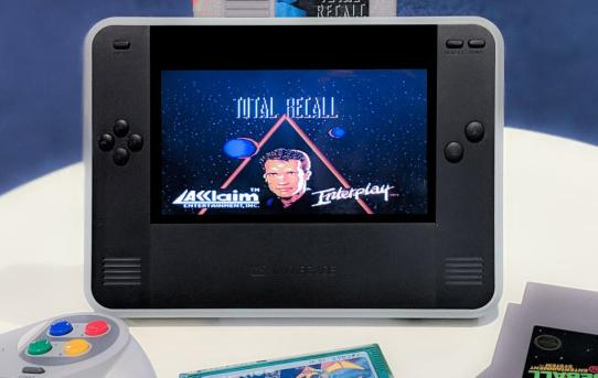My Arcade Announces RETRO CHAMP Portable NES and Famicom System