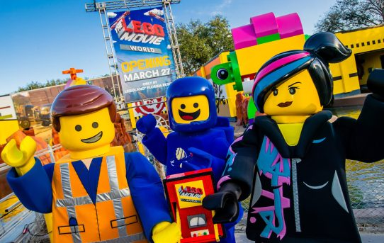 LEGOLAND® Florida Resort to Open THE LEGO® MOVIE™ WORLD on March 27