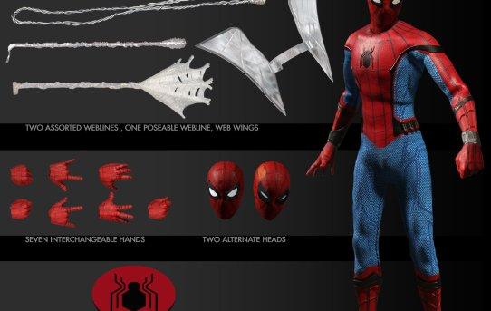 Mezco Toyz ONE:12 COLLECTIVE Spider-Man: Homecoming