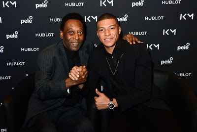 Pelé - Mbappé - Hublot Fast Forward to the Future