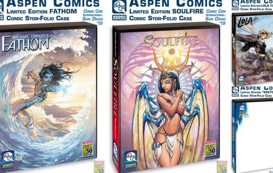 ASPEN COMICS SDCC 2019 WAVE 3 EXCLUSIVES AND FULL CREATOR APPEARANCE LINE-UP