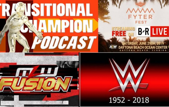 Transitional Champion Podcast Episode 13 - WWE is Dead. AEW is The Future. MLW Is here.