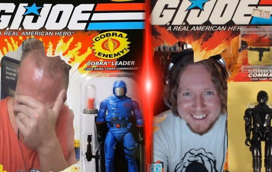 """Capes and Commentaries #57 - G.I. Joe """"Arise, Serpentor, Arise! Part 2 & 3"""""""