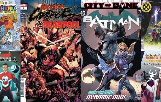 Batman, Deadpool, Absolute Carnage, and Jim Cornette?!