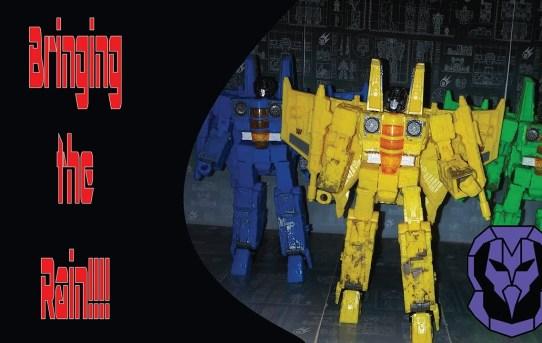 Transformers Siege Rainmakers 3-Pack