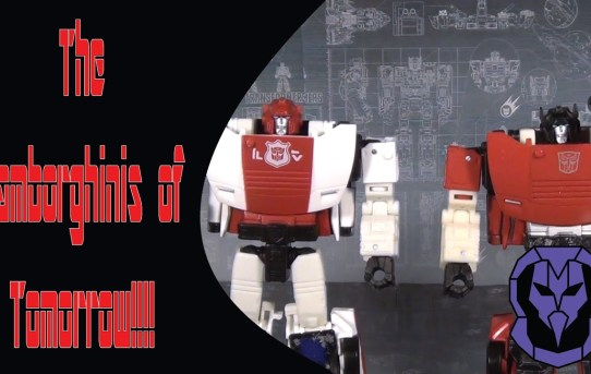 The Lamborghinis of Tomorrow!!!! Transformers Siege Sideswipe and Red Alert