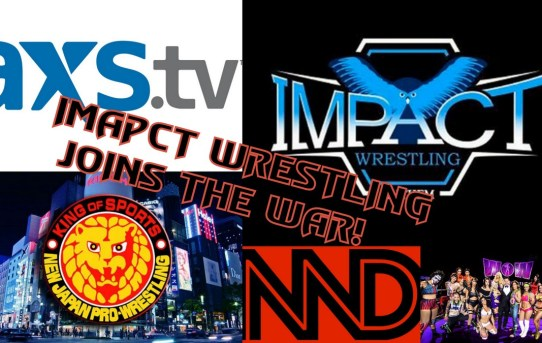Impact Wrestling Makes Bold Move!