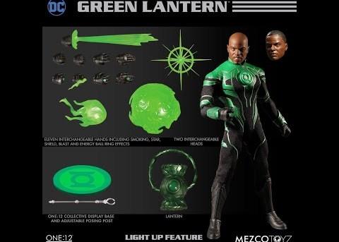 Mezco Toyz ONE:12 COLLECTIVE John Stewart - The Green Lantern