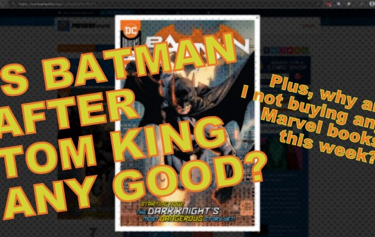 Nerd News Desk - Batman #86 Review, New Comics Preview