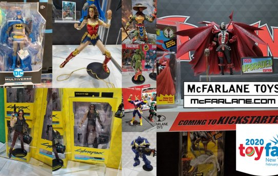 Toy Fair 2020 McFarlane Gallery