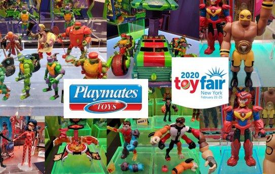 Toy Fair 2020 Playmates Gallery
