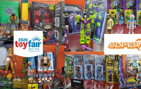Toy Fair 2020 Super 7 Gallery