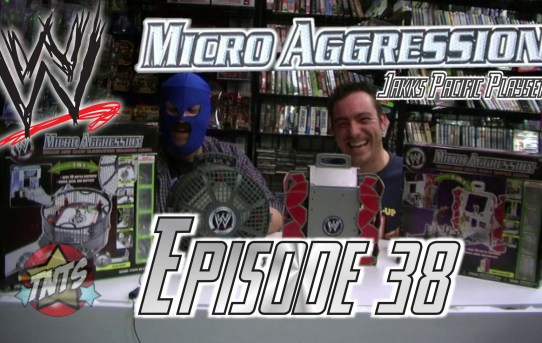 That New Toy Smell Episode 38 - WWE Micro Aggression Playsets