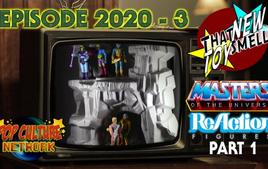 That New Toy Smell 2020 - 3 MOTU ReAction Part 1