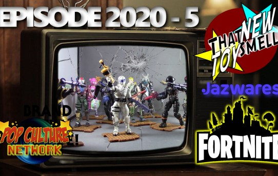 """That New Toy Smell 2020 - 5: Jazwares 4"""" Fortnite Figures"""