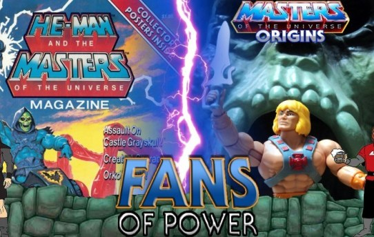 Fans Of Power #232 - Flippin' Through MOTU Magazine Issue #2 & MOTU Origins In Hand Impressions