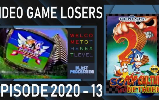 Video Game Losers 2020 - 13: Sonic The Hedgehog 2
