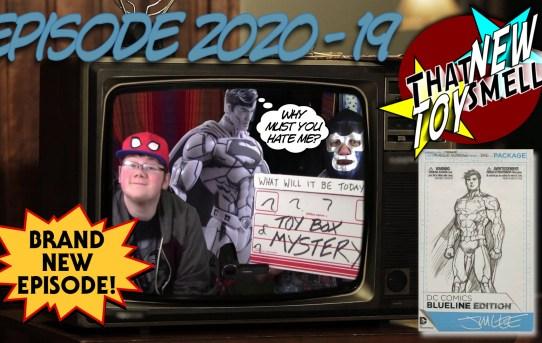 That New Toy Smell 2020 - 19: DC Comics Blueline Superman Action Figure!
