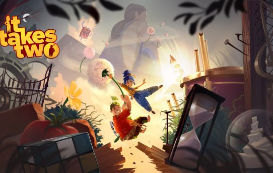 It Takes Two, EA and Hazelight's Thrilling Co-op Only Action Adventure Game, Launches Today