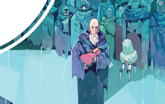 Your First Look at the Series Finale of the Sci Fi Epic ORIGINS From BOOM! Studios