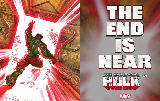 THE END IS NEAR AS AL EWING SETS THE STAGE FOR A LEGENDARY FINALE WITH IMMORTAL HULK #49!