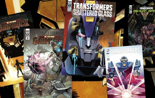 KING GRIMLOCK Reigns Supreme in August, Heralding a Huge Month for IDW's TRANSFORMERS Comics