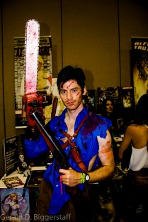 "Ash (Brian McGee) from ""Evil Dead- The Musical"""