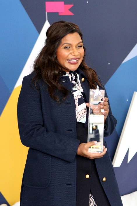 Mindy Kaling Receives The IMDb STARmeter Award At The 2019 Sundance Film Festival In Park City