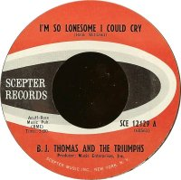 "B.J. Thomas, ""I'm So Lonesome I Could Cry"""