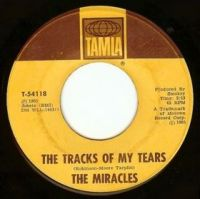 """The Miracles, """"The Tracks of My Tears"""""""