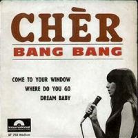 "Cher, ""Bang Bang (My Baby Shot Me Down)"""