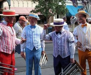 DisneyWorld Barbershop Quartet