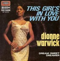 "Dionne Warwick, ""This Girl's In Love With You"""