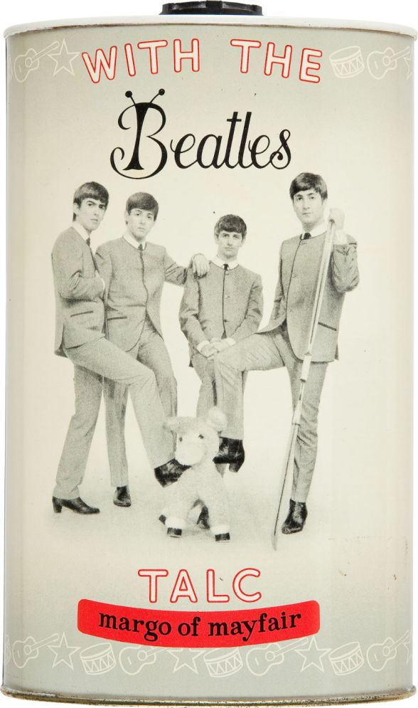 With the Beatles Talcum Powder (Margo of Mayfair, 1964)