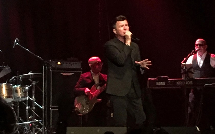 Rick Astley at The Phoenix Concert Theatre