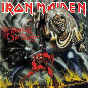 """Iron Maiden, """"The Number of the Beast"""""""