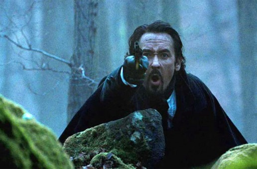 "John Cusack in ""The Raven"""