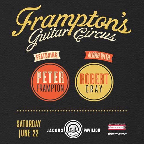 Peter Frampton at Jacobs Pavilion 6/22