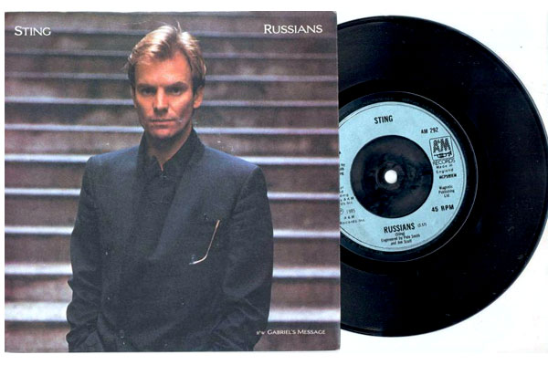 "Sting, ""Russians"""