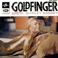 "Shirley Bassey, ""Goldfinger"""