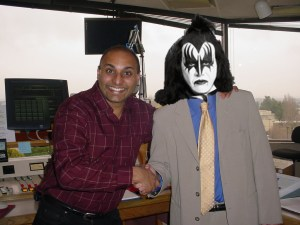 The day Ted Asregadoo met the Photoshopped Gene Simmons at work