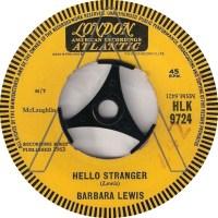 "Barbara Lewis, ""Hello Stranger"""